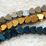Minerály - Hematit-srdce 4mm-1ks - 4829530_