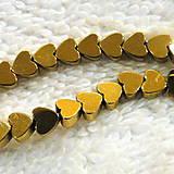 Minerály - Hematit-srdce 4mm-1ks - 4829547_