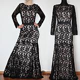 Šaty - Spoločenské šaty z krajky v rôznych farbách - 4827111_