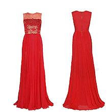 Šaty - Spoločenské šaty vyšívané korálkami rôzne farby - 4827600_