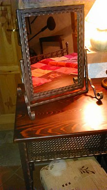 Zrkadlá - Kovové nastaviteľné zrkadielko PILOTEK - 4828786_