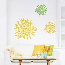 Dekorácie - Kvety abstraktné - dekoratívna nálepka do interiéru - 4829050_