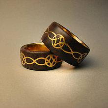 Prstene - Svadobné obrúčky - 4832976_