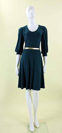 Šaty - Šaty s riasenými rukávmi - 4833107_