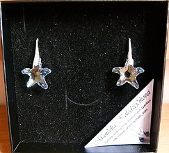 Náušnice - Morské hviezdice v darčekovej krabičke - 4830954_