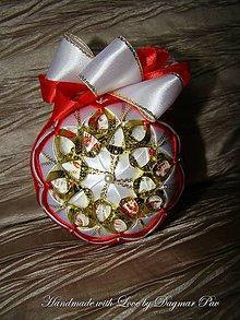 Dekorácie - Vianočná guľa Gold Flower 1 - 4831728_