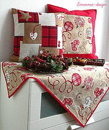 Úžitkový textil - Vianoce...Obrus - 4832624_