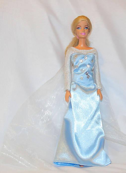 6655e092bd06 Šaty Elsa pre Barbie na objednávku   TrishaFate - SAShE.sk ...