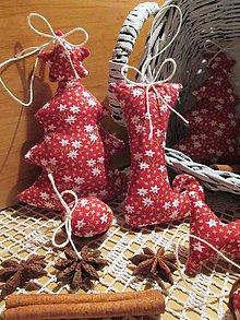 Dekorácie - vianočné ozdôbky...20 ks - 4835580_