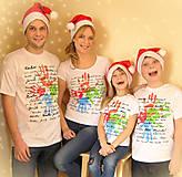 Tričká - Rodinné tričká... - 4832298_