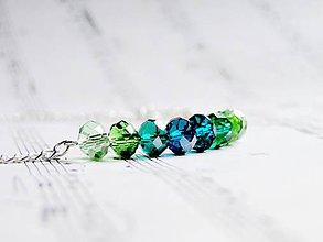 Náhrdelníky - Green or Blue #0608 - 4836351_