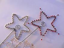 Dekorácie - hviezdne nebo - smotanové - 4839556_