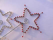 Dekorácie - hviezdne nebo - smotanové - 4839557_