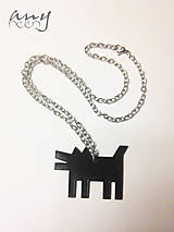 DOG a Keith Haring - prívesok