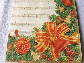 Papier - servitky Vianoce 5 - 4838359_