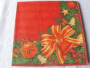 Papier - servitky Vianoce 6 - 4838368_