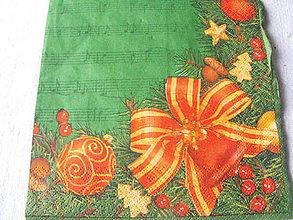 Papier - servitky Vianoce 7 - 4838372_