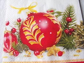 Papier - servitky Vianoce 9 - 4838424_