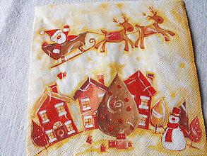 Papier - servitky Vianoce 10 - 4838441_
