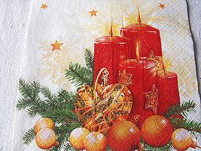 Papier - servitky Vianoce 12 - 4838473_
