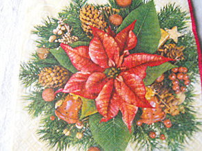 Papier - servitky Vianoce 13 - 4838478_