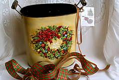 Nádoby - vianočný venček... - 4839016_