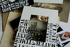 Rámiky - biela , alebo čierna...10x15cm - 4839737_