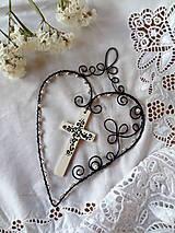 Dekorácie - folk...s vierou  v srdci - 4840766_