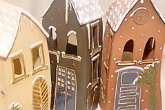 Dekorácie - Keramický domček