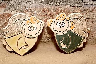 Dekorácie - Veselý Anjel Malý - VÁM - 4843733_