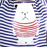 Tričká - Tričko pruhované DLHÝ RUKÁV s potlačou na výber - 4840822_