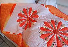 Prehoz patchwork - mandarínkové želé