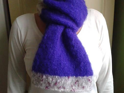 šál - teplý fialový   Lilkas - SAShE.sk - Handmade Šály dde67217d9