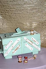 Krabičky - Vintage kazeta  - 4844933_