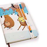 Papiernictvo - Zápisník A5 Pri jazierku - 4844511_