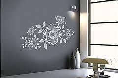 Dekorácie - Kamon - originálna nálepka do interiéru - 4840561_