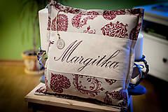 """Úžitkový textil - Vankúšik """"Margitka"""" a """" Anka"""" - 4849738_"""
