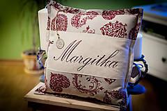 """Úžitkový textil - Vankúšik """"Margitka"""" a """" Anka"""" - 4849742_"""