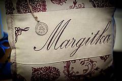 """Úžitkový textil - Vankúšik """"Margitka"""" a """" Anka"""" - 4849747_"""