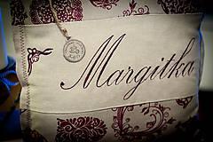 """Úžitkový textil - Vankúšik """"Margitka"""" a """" Anka"""" - 4849748_"""