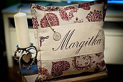 """Úžitkový textil - Vankúšik """"Margitka"""" a """" Anka"""" - 4849749_"""