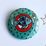 Odznaky/Brošne - Vianočné buttony malé (37mm) - 4848065_