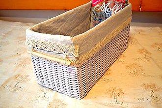 Košíky - Vintage box DAN - 4846347_