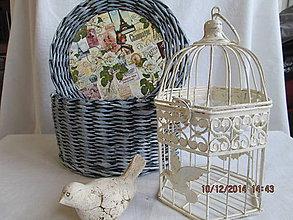 Košíky - Okrúhly vintage - 4852943_