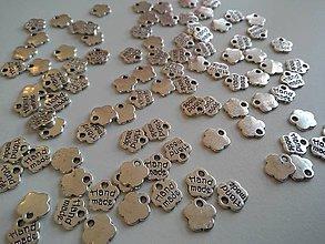 Komponenty - Prívesok Handmade strieborný - 4853427_