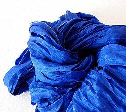 Šály - Královská modrá...hedv.šála 90x200 - 4850395_