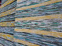 Úžitkový textil - Zeleno žltý 160x73cm pastelový - 4852741_