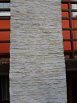 Úžitkový textil - Koberec béžový melír ako capuccino 160x74cm - 4852775_