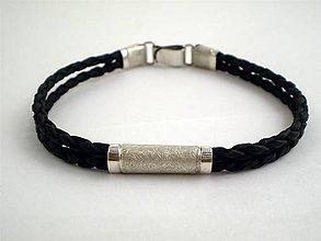 Šperky - strieborný, plochý, elegantný - 4856288_