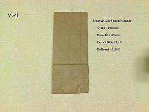 Obalový materiál - Papierové sáčky - V-02 - 4856148_